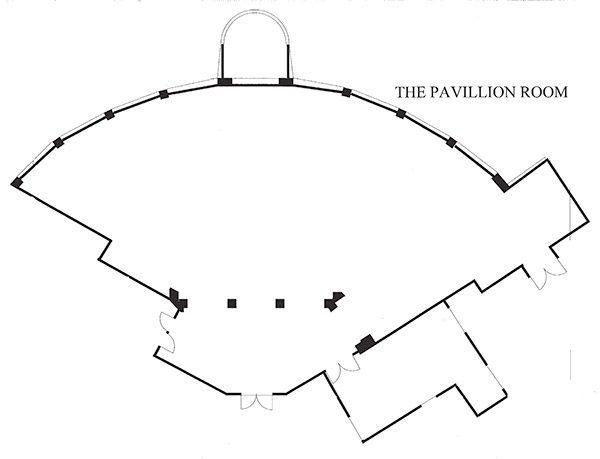 tappen hill mansion pavillion room floorplan