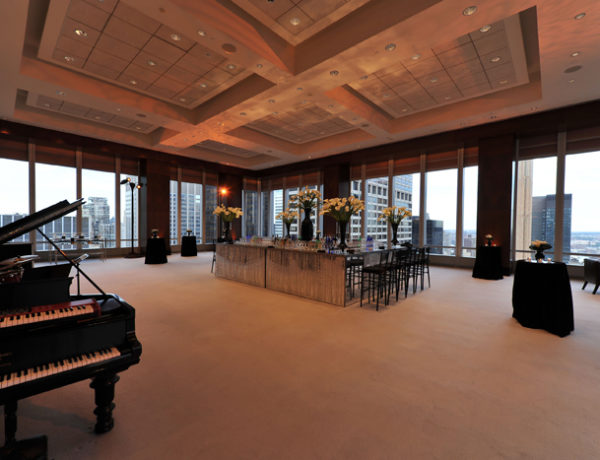 beautiful reception area at 320 park ave
