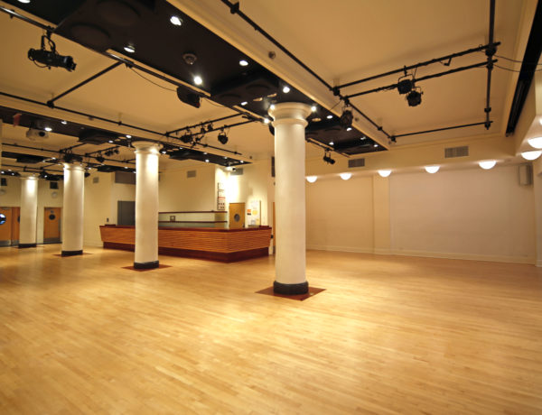 large empty interior venue