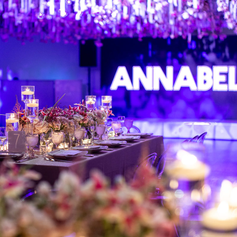 venue with table settings