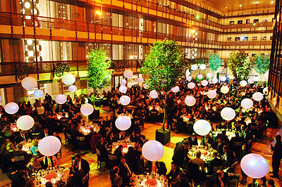 Lincoln Center dining area