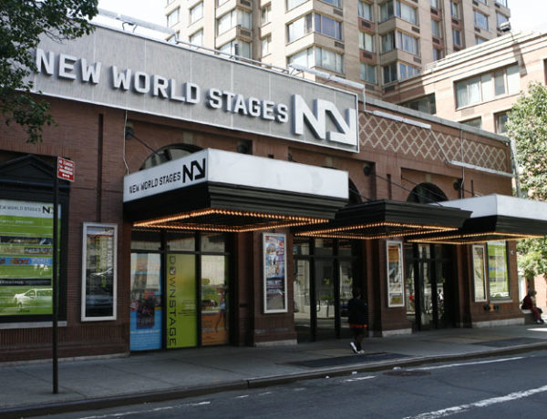 New World Stages front entrance