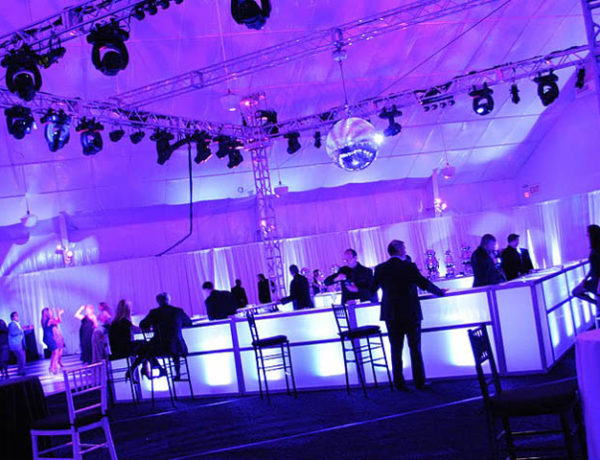 Saw Mill Club interior event space