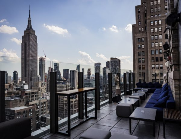 city views from the Skylark rooftop