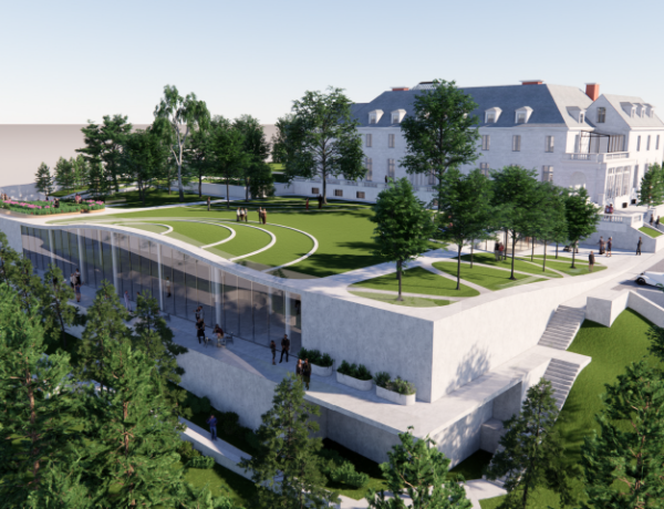 rendering of newly renovated Alder Manor